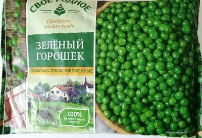 Горошек зеленый Своё родное фас.0,400г (10 шт.)