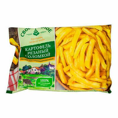 Картофель ломтики Своё родное 0,400г 10шт.