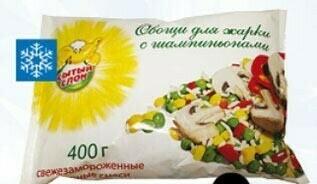 Овощи для жарки с шампиньонами Сытый Слон фас.0,400 10шт.