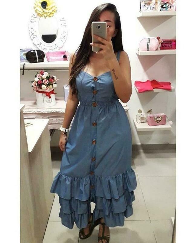 Vestido Demin