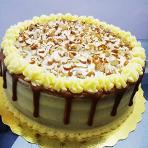 Torta de vainilla y arequipe