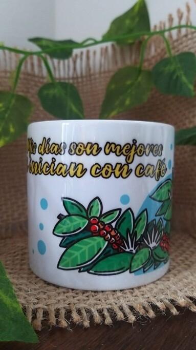 Mug/pocillo de 6 oz