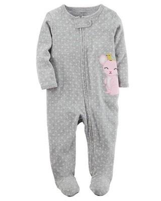 Carter's – Pijama enteriza con pies para niñas