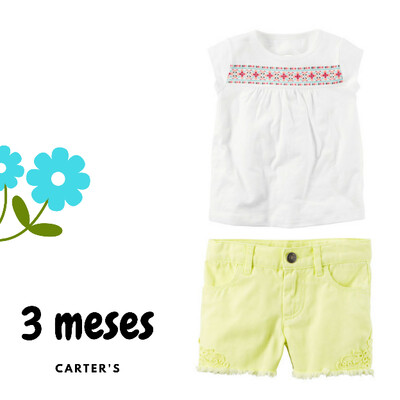 Carters – conjunto para niña.