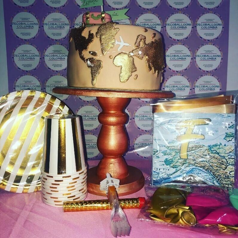 Kit ¨Celebra tu cumpleaños en casa¨