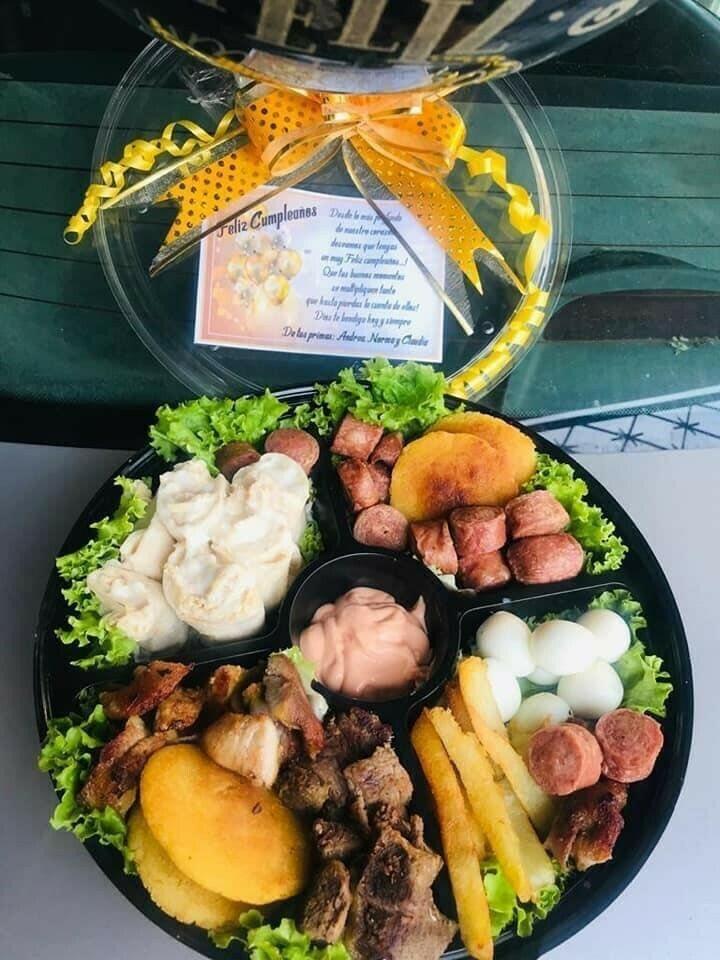 Desayuno sorpresa picada colombiana