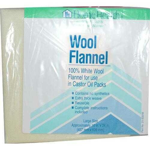 Home Health Wool Flannel Small (1x12X18 IN)