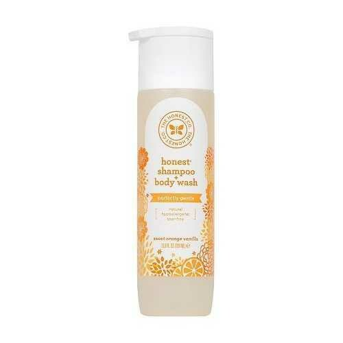 The Honest Company Honest Shampoo and Body Wash Sweet Orange Vanilla (1x10 OZ)