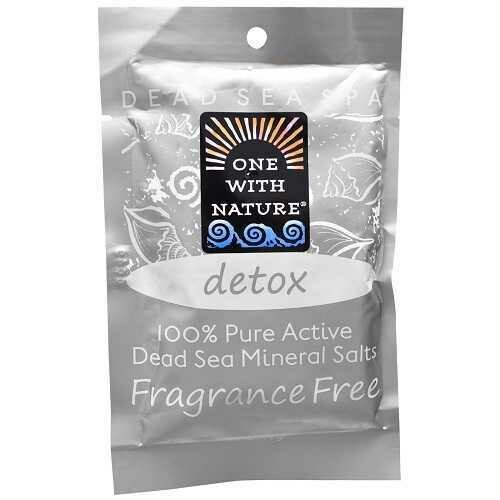 One With Nature O.W.N. Dead Sea Spa, Mineral Salts, Detox (6X2.5 OZ)