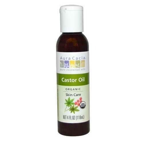 Aura Cacia Castor Oil (16 OZ)