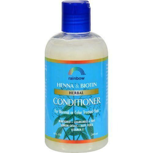 Rainbow Research Herbal Conditioner Henna and Biotin - 8 fl oz