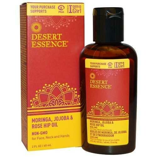 Desert Essence Jojoba Moringa Rose Hip Oil (1x2 OZ)
