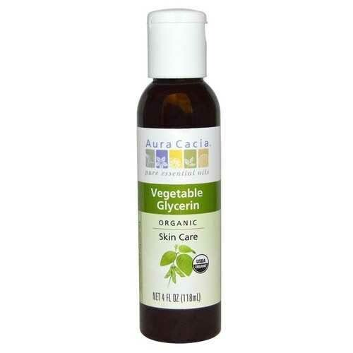 Aura Cacia Vegetable Glycerin (4 OZ)