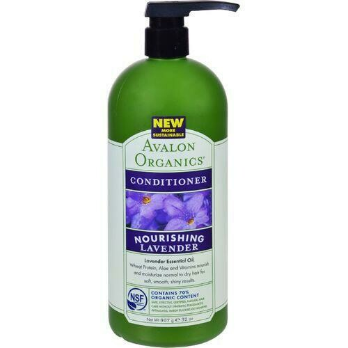Avalon Organics Nourishing Conditioner Lavender - 32 fl oz