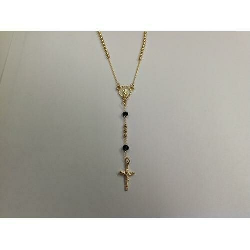 Gold Electroplated Rosary 18