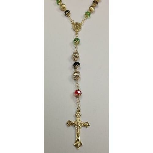 Gold Electroplated Rosary 24