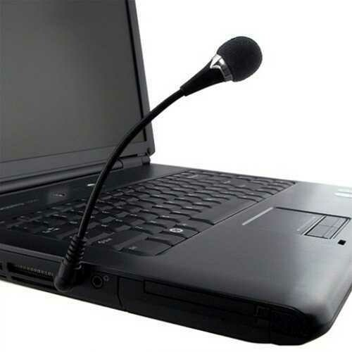 Mini 3.5mm Flexible Microphone for PC/Laptop