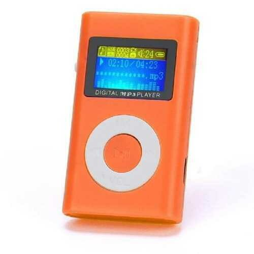 Music Player USB Mini MP3 Player LCD Screen Support 32GB Micro SD TF Card Red Players Hot