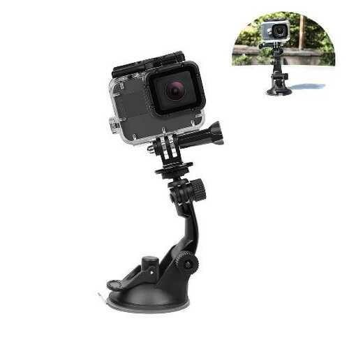 SHOOT 7CM Suction Cup for Gopro Hero 7 6 5 Black SJ4000 Xiaomi Yi 4K Mijia 4 k H9 with Tripod Adapter Go Pro Hero 6 7 Accessory