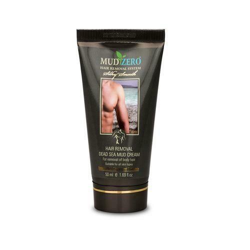 MudZero Dead Sea Hair Removal Cream for Men 50ml