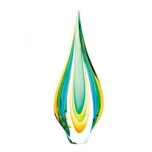 Cool Flame Art Glass Statue