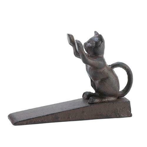 Cat Scratching Door Stopper