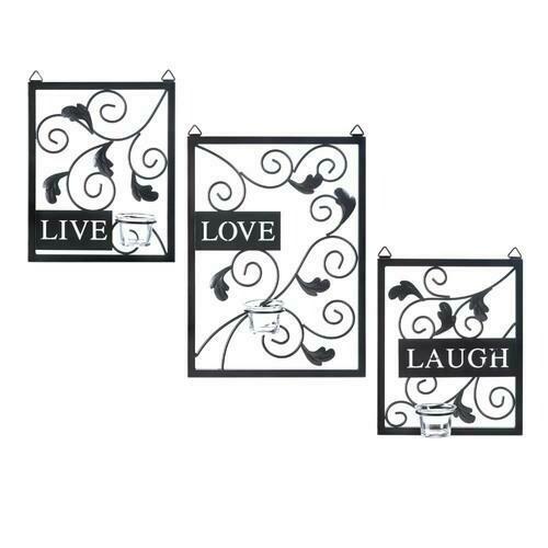 Live, Love, Laugh Wall Decor