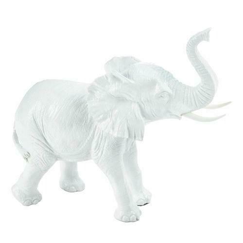 White Elephant Figurine