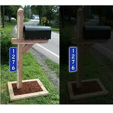 Reflective Address Markers