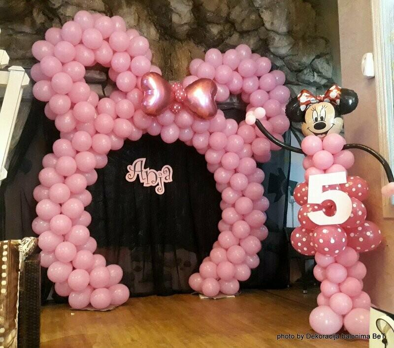 Disney - Minnie Mouse dekoracija