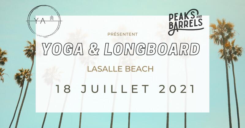 Yoga & longboard/surfskate || 18 juillet - Lasalle