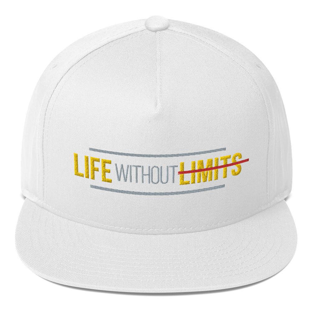 Life Without Limits Flat Bill Cap