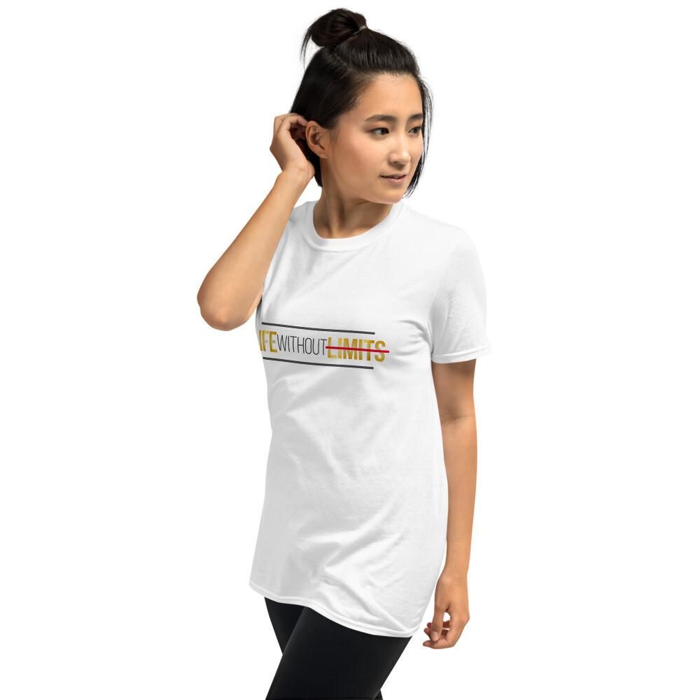 [LIFE WITHOUT LIMITS] Short-Sleeve Unisex T-Shirt