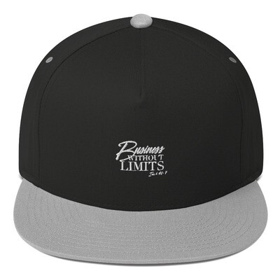 [BUSINESS WITHOUT LIMITS] Flat Bill Cap
