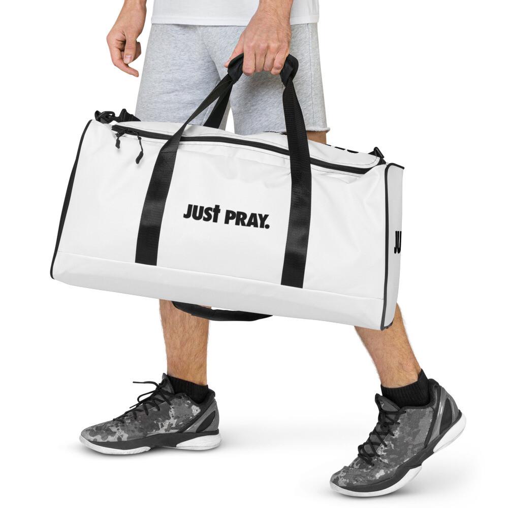 Just Pray Duffle bag