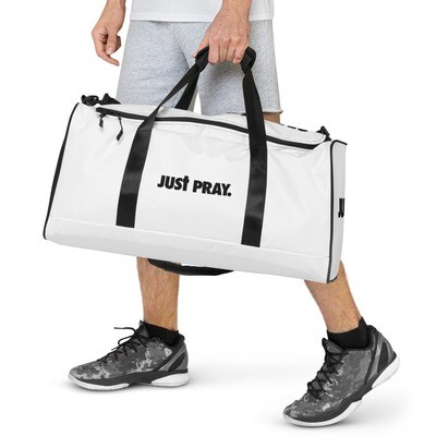 Just Pray Duffle bag
