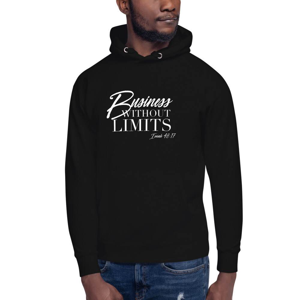 Business Without Limits Unisex Hoodie