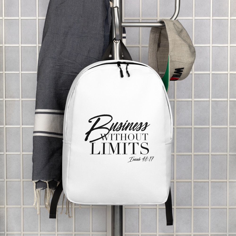 Business Without Limits Minimalist Backpack