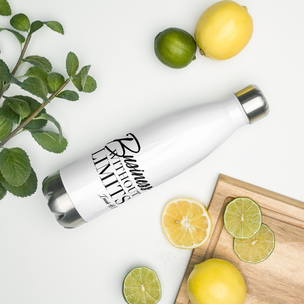 Business Without limits Stainless Steel Water Bottle