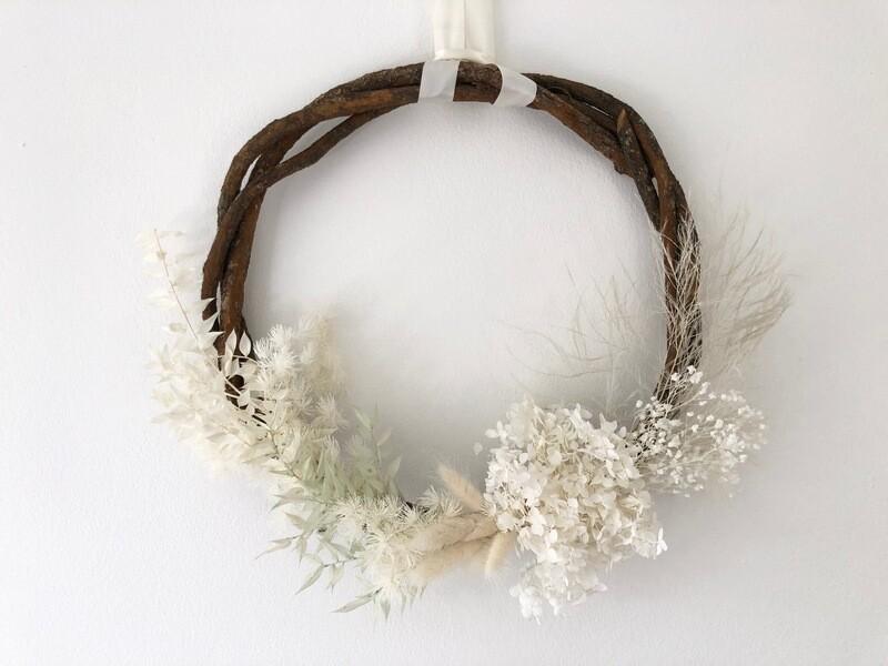 Wreath Workshop - Preserved Sunday 6th December 9:30am