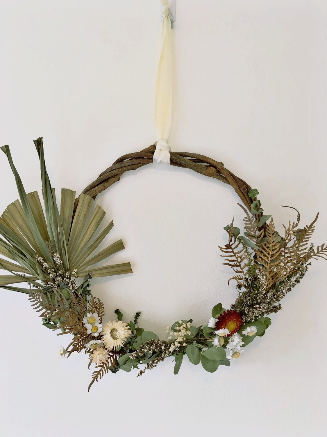 Natural Dried Wreath