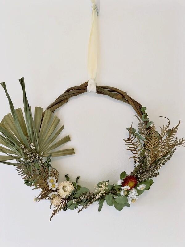 Natural Dried Wreath