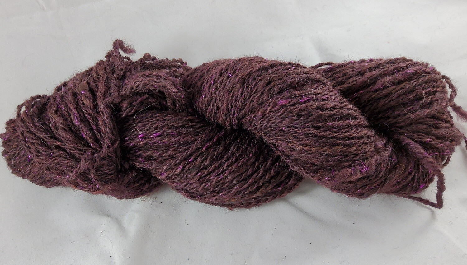 Purple Dragon | handdyed & handspun yarn