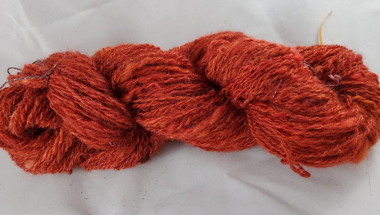 Red Dragon | handdyed & handspun yarn