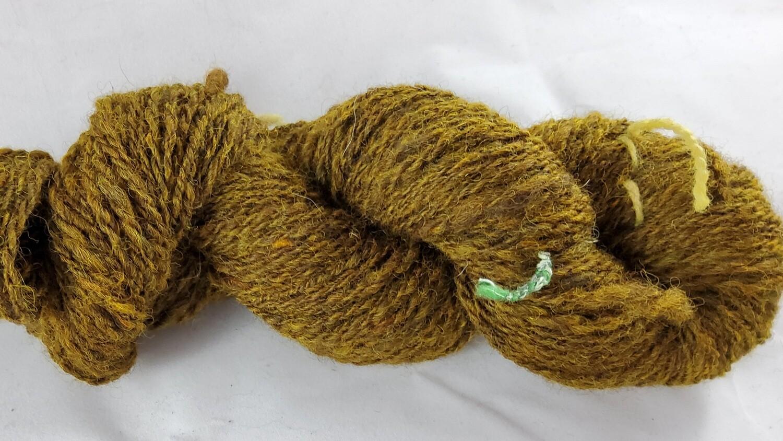 Brass Dragon   handdyed & handspun yarn