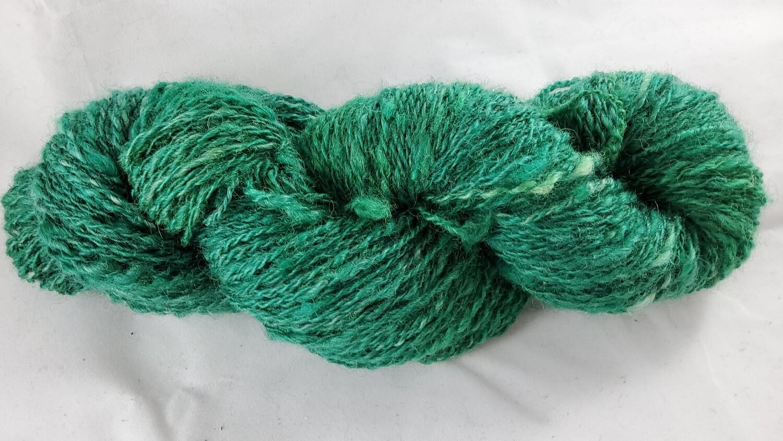 Emerald Dragon | handdyed & handspun yarn
