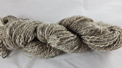 Gray Dragon | handdyed & handspun yarn