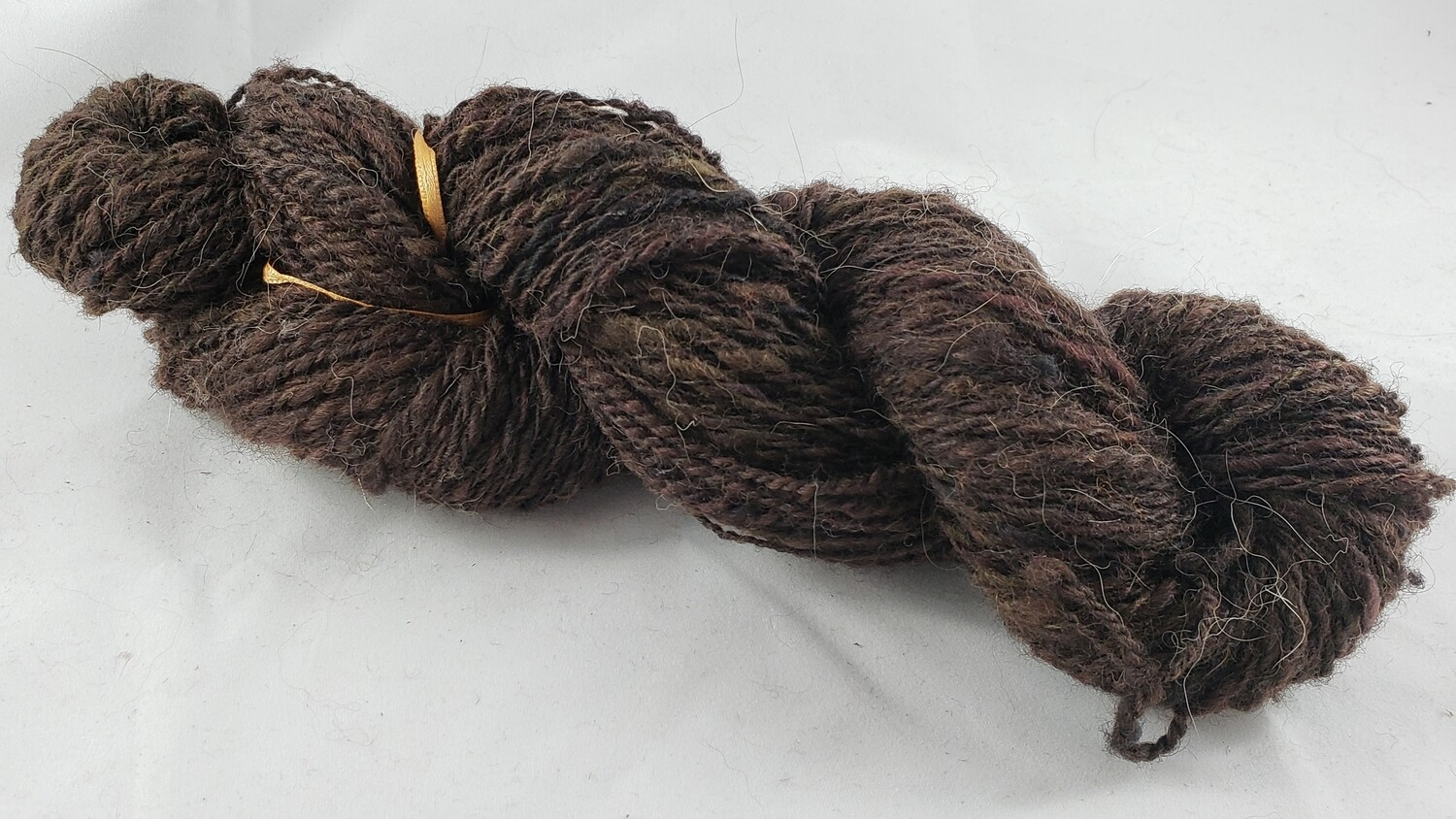 Dark Chocolate | handdyed & handspun yarn
