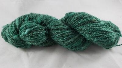 Emerald Sage | handdyed & handspun yarn