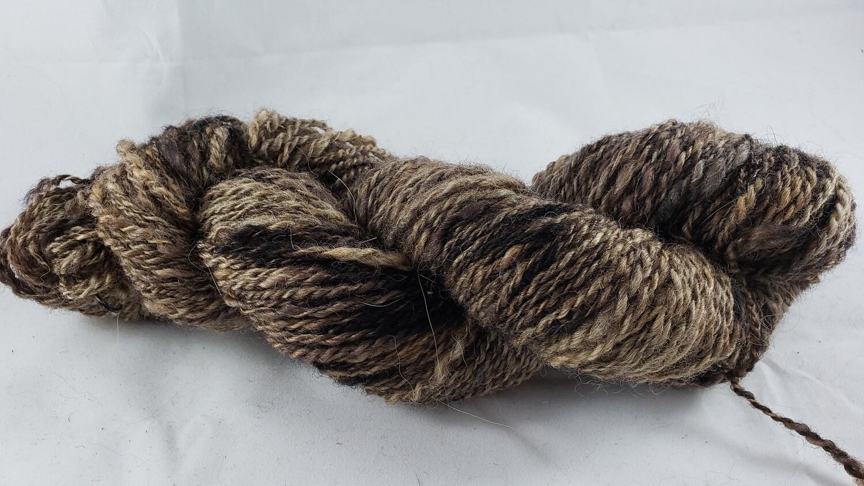 Spotted Moth | handdyed & handspun yarn